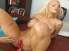 Special delivery, two hot chick and sex toys