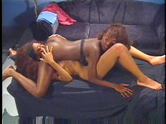 Two Lesbian Massage Their Butt And Also Their Pussy Too