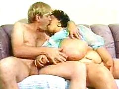 This Big Black Woman Gets A Lovely White Cock