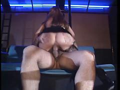 White Horny Chick Getting Her Wet Pussy Fucked