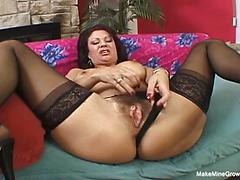 Ugly Milf Has Beautiful Tits And Juicy Pussy