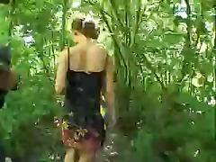 Two Couples Having A Fuck Near Car In Outdoor