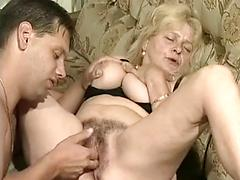 Alluring Mature Mom Stretched By Thick Cock