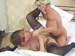 Margo Gets Her Milf Tits Sucked By Her Younger Lover