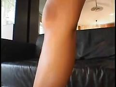 Filthy hottie with nice ass gets dp