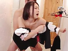 Japanese cougar gets screwed hard in a compilation video